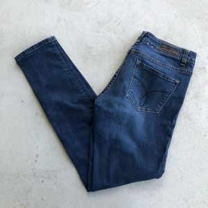 "Calvin Klein Dark Wash ""Ultimate Skinny"" Jeans"